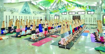 練習瑜伽的人數不斷增加